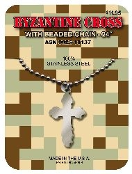 GI Jewelry Byzantine Cross - Military Medal