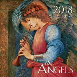Angels Wall Calendar for 2018