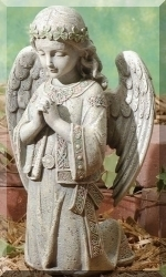 Celtic Angel Garden Statue