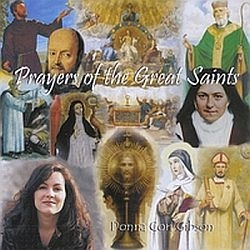 Prayers of the Great Saints - Donna Cori Gibson - Music CD